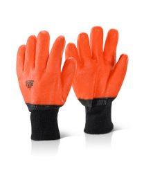 Lined PVC Freezer Glove