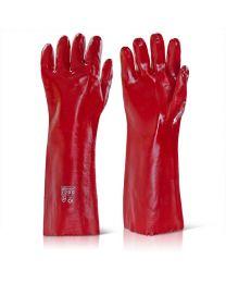 "18"" Open Cuff PVC Gauntlets"