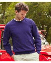 Fruit of the Loom Classic Raglan Sweatshirt