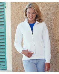 Fruit of the Loom Lady-Fit Premium Sweatshirt Jacket