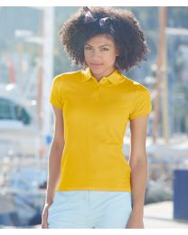 Fruit of the Loom Lady-Fit Premium Polo Shirt
