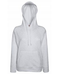 Fruit of the Loom Lady-Fit Lightweight Hooded Sweatshirt