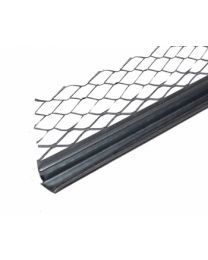 Stainless Steel Plaster Stop 16mm x 3m 25 Pack