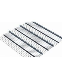 Stainless Steel Light Weight Rib Lath 2.5m x 600mm x 3mm 10 Pack