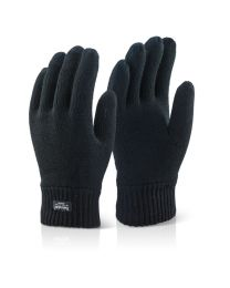 Black Thinsulate Gloves