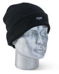 Black Thinsulate Beenie Hat