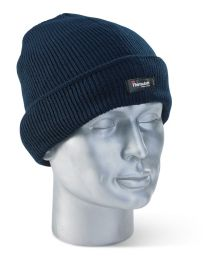 Navy Blue Thinsulate Beenie Hat