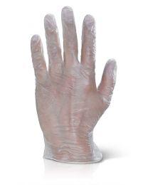 Clear Powder Free Vinyl Examination Gloves (Qty 1000)