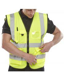 Yellow Executive Waistcoat
