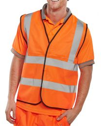 Hi-Vis Orange Vest / Waistcoat