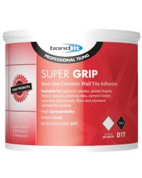 Bond It Super Grip Tile Adhesive Trade Pack