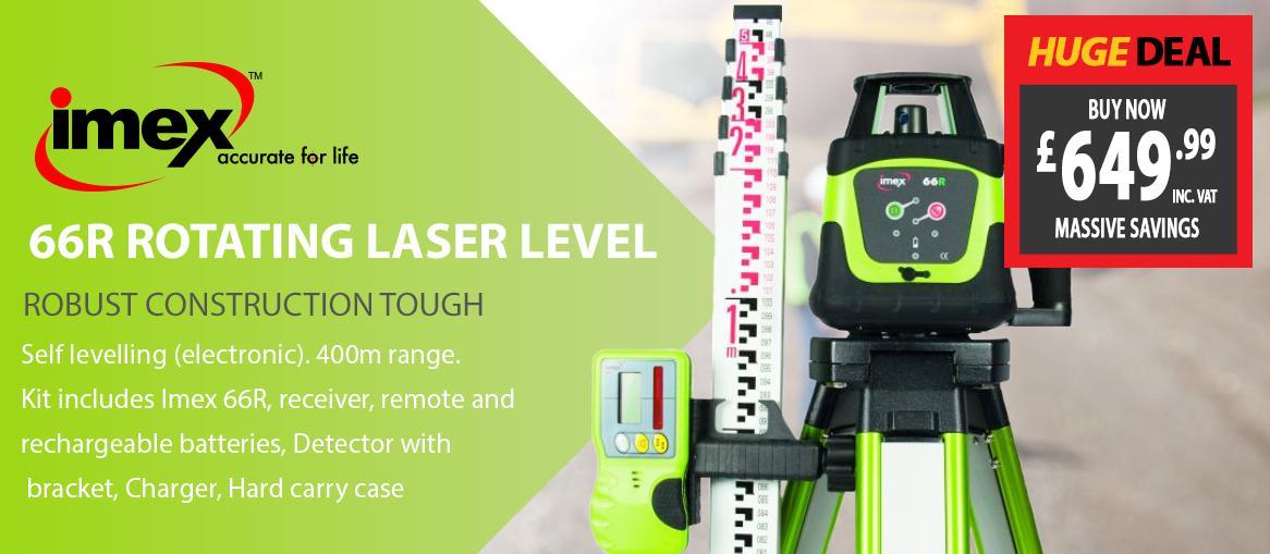 IMEX 66R Laser Level